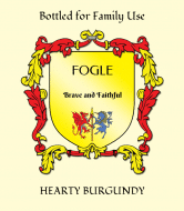 Expressions Wine Label - Family Crest