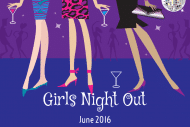 Celebration Mini Wine Label - Girls Night Out