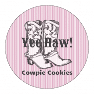 Birthday Label - Cowgirl