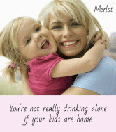 Wine Label - Not Drinking Alone