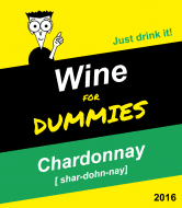 Expressions Wine Label - Chardonnay For Dummies