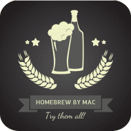 Expressions Drink Coaster - Homebrew