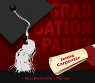 Graduations Beer Label - Graduation Day