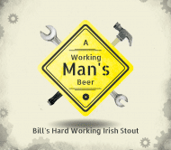 Expressions Beer Label - Working Man's