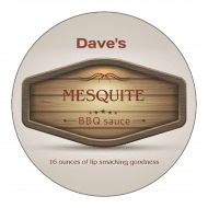 Canning Label - Mesquite
