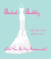 Wedding Champagne Label - Bridal Bubbly