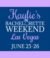 Wedding Champagne Label - Bachelorette Weekend