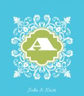Wedding Wine Label - Amelia