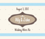 Wedding White Ale