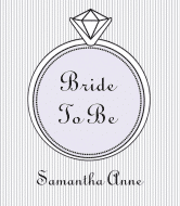 Wedding Champagne Label - Bride to Be