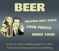 Expressions Beer Label - Helping Girls