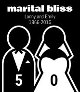 Wedding Wine Label - Marital Bliss