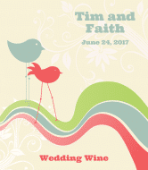 Wedding Wine Label - Two of a Kind