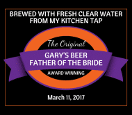 Wedding Beer Label - Award Winning