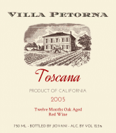 Expressions Wine Label - Villa