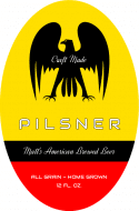 Oval Beer Label - Pilsner