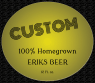 Beer Label - CUSTOM