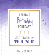 Birthday Wine Label - Birthday Forecast