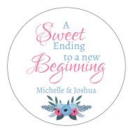 Wedding Sticker - Sweet Ending