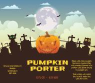 Holiday Beer Label - Pumpkin Porter