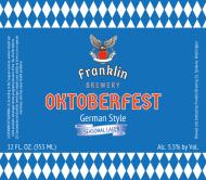 Beer Label - Oktoberfest