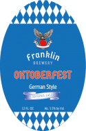 Holiday Oval Beer Label - Oktoberfest
