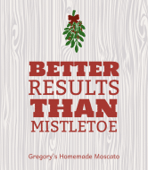 Holiday Wine Label - Better Than Mistletoe