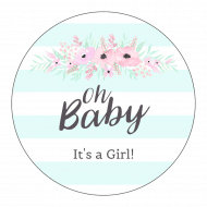 Baby Sticker - Flower Bough