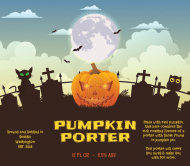 Holiday Beer Label - Pumpkin Porter