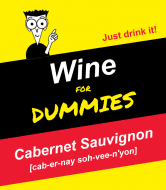 Expressions Wine Label - Cabernet For Dummies