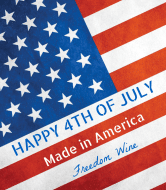 Holiday Wine Label - Freedom