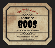 Holiday Beer Label - Halloween Potion