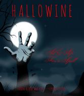 Holiday Wine Label - Hallowine