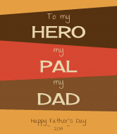 Holiday Wine Label - Hero Dad