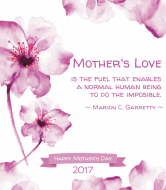 Holiday Wine Label - Mother's Love