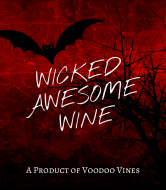 Holiday Wine Label - Voodo Vines