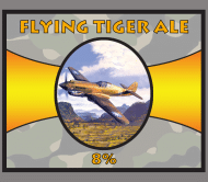 Beer Label - Flying P40