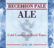 Expressions Beer Label - Recession Ale