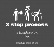 Expressions Beer Label - Three Step Process