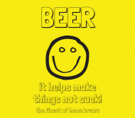 Expressions Beer Label - Not Suck