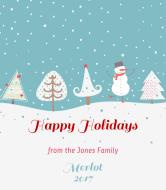 Holiday Wine Label - Festivus