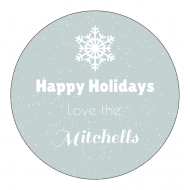 Holiday Sticker - Holiday Snow