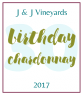 Birthday Wine Label - Birthday Chardonnay