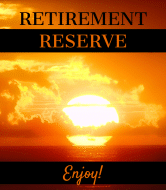 Wine Label - Retirement Sunset