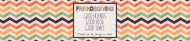 Holiday Water Bottle Label - Friendsgiving
