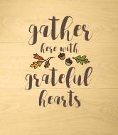 Holiday Wine Label - Gather