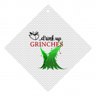 Holiday Wine Hang Tag - Drink Up Grinches