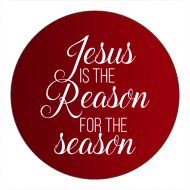 Holiday Canning Label - Reason for the Season
