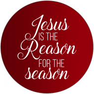 Holiday Label - Reason for the Season