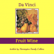 Expressions Mini Wine Label - Painted Fruit